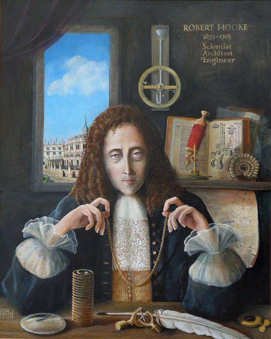 Robert Hooke: grande scienziato sperimentatore.