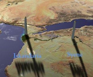 Alessandria-Siene in Egitto