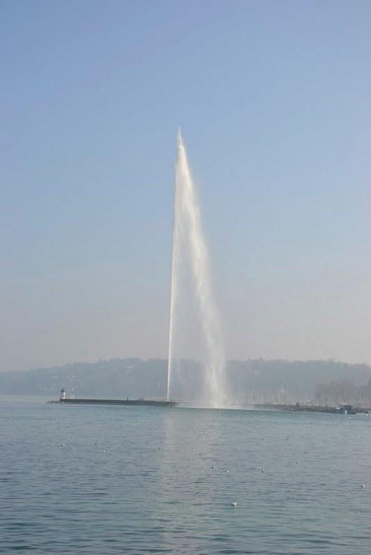 Jet d'eau Ginevra