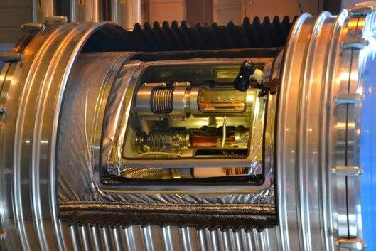 Sezione del tubo acceleratore