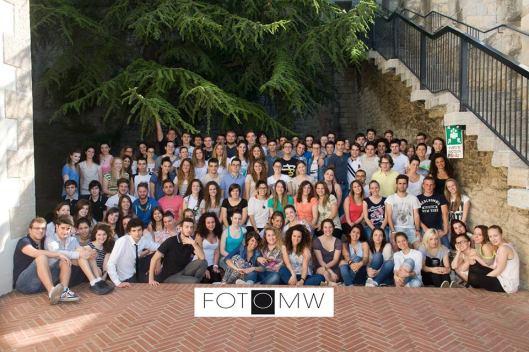 Gli studenti delle Classi Quinte. Anno 2012 - 2013