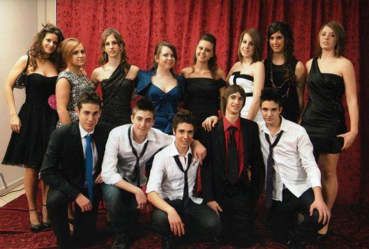 Gli studenti di quarta classico (2013 - 2014)