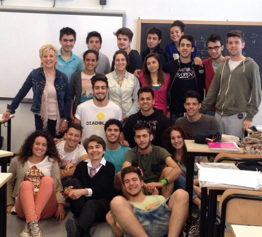 5 scientifico A, 2013-2014