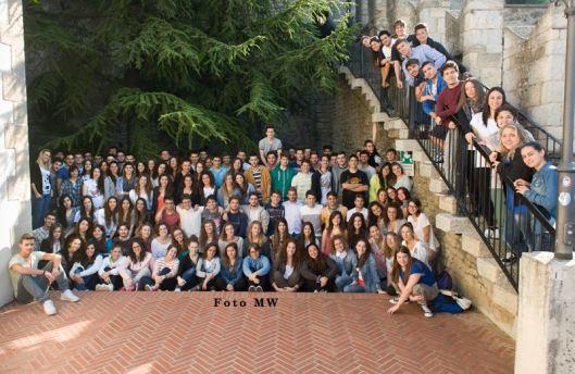classi quinte- annoscolastico 2013-2014. 125 studenti