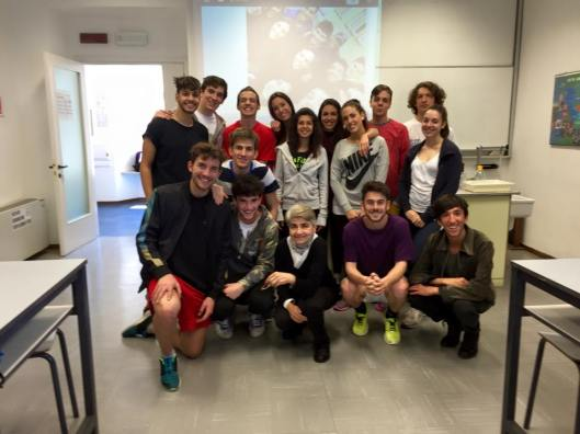 Anno scolastico 2014-2015 Classe 5 Scientifico A
