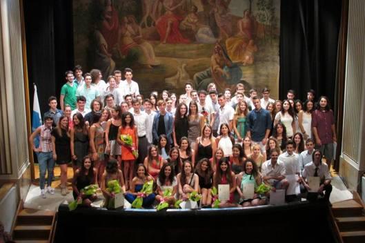 13 luglio 2015 Studenti diplomati della scuola secondaria superiore di San Marino - 2014 - 2015