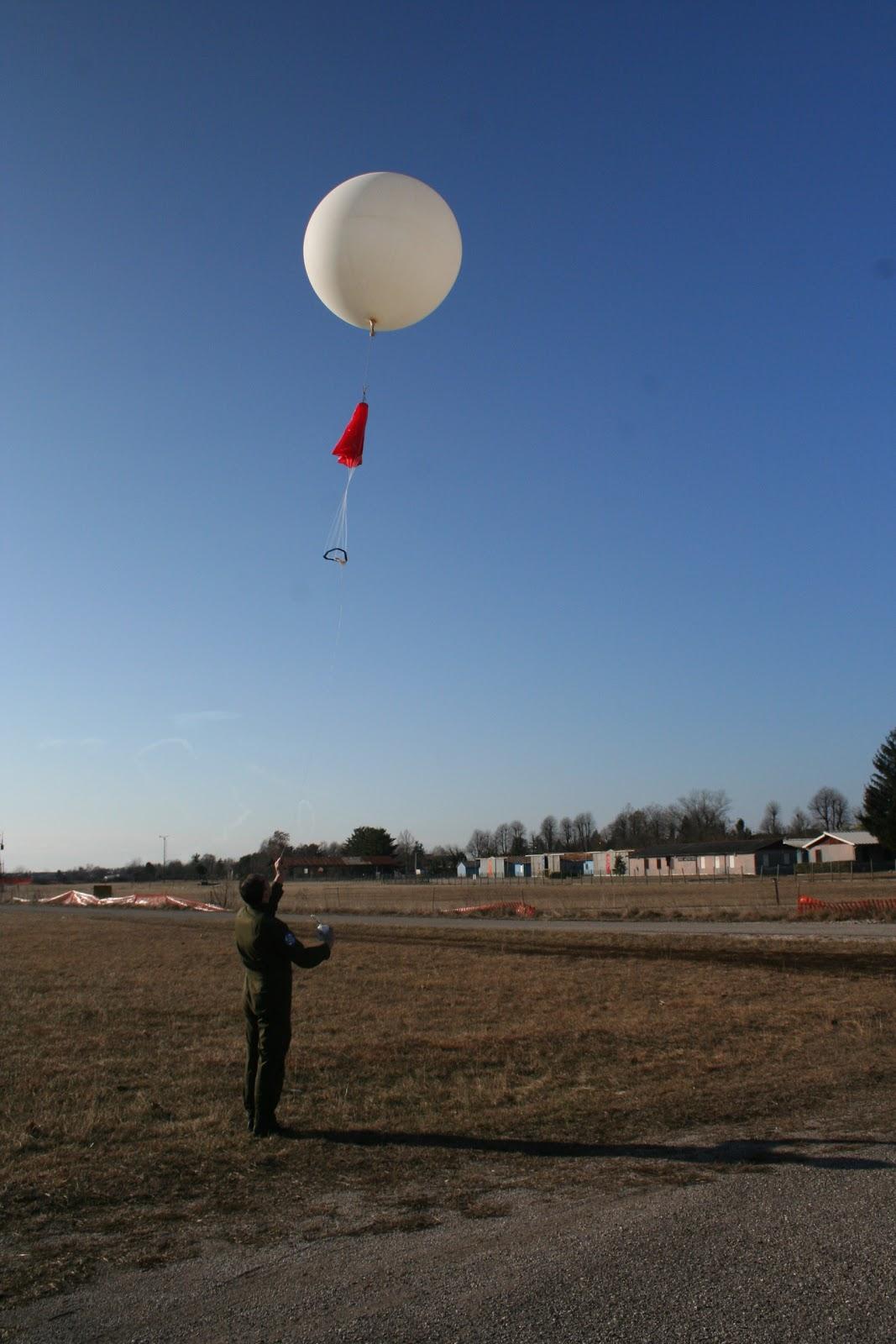 AIR - RADIORAMA: Pallone sonda - calcolo parametri di volo